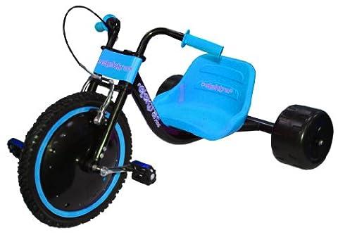ELEKTRA Kids Hog Blue and Black Flashing Trike - Black