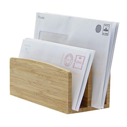 Briefhalter, Papiersortierständer, Aus Natürlichem Bambus