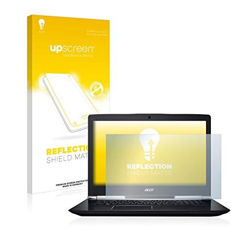 upscreen Entspiegelungs-Schutzfolie kompatibel mit Acer Aspire V 17 Nitro - Anti-Reflex Bildschirmschutz-Folie Matt