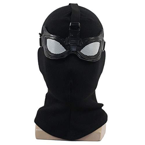 Hot Spider Mann Weit Von Zu Hause Maske Cosplay Superheld Stealth Anzug Masken Helm Peter Parker Halloween Kostüm Requisiten (Peter Parker Spider Mann Kostüm)
