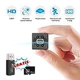 Mini Telecamera Spia Nascosta, FLYLINKTECH 1080P Microcamera Spy Motion...