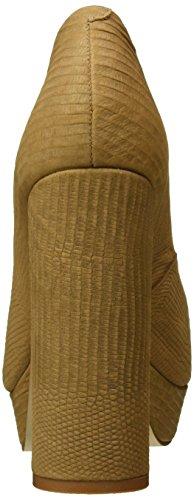 Buffalo London - Zs 6024-15 Minilizard, Scarpe col tacco Donna Beige (Beige (AMENDOA 01))