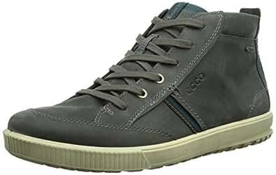 ecco ennio herren hohe sneakers grau titanium 02244 45 eu 11 herren uk schuhe. Black Bedroom Furniture Sets. Home Design Ideas