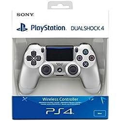Sony - Dualshock 4 V2 - Mando Inalámbrico Plata