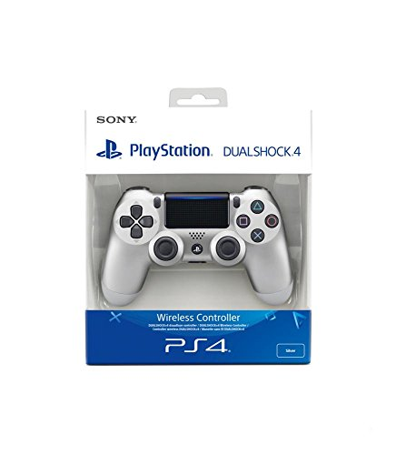 Sony - Mando Inalámbrico Dualshock 4 V2, Color Plata (PS4)