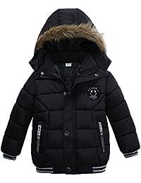 BBsmile Ropa Bebe Niño Otoño Invierno 2018 Niños de Moda Abrigo Chicos Chicas Chaqueta de Invierno Acolchada con Capa Gruesa Ropa