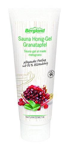 Gel Granatapfel (Bergland Sauna Honig-Gel Granatapfel, 1er Pack (1 x 125 g))