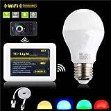 Milight 2.4G Wireless E27 6W RGBW LED-Strahler dimmbare Birnenlampe 86-265V