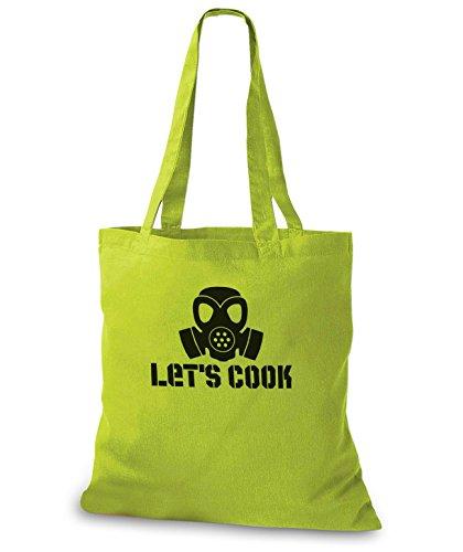 StyloBags Jutebeutel / Tasche Lets Cook Kiwi