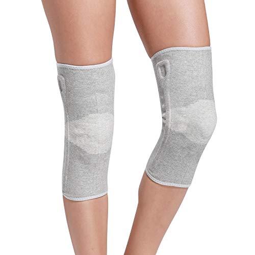 YMJJ Knie-Hülsen-Leichte Knie-Klammer-Hülse Für Männer Frauen, Knie-Unterstützung Für Meniskus-Riss, Arthritis, Schmerz-Entlastung, Sport EIN Paar,M -