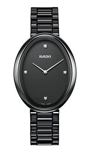 Rado–Reloj de pulsera analógico para mujer con mecanismo de cerámica 277.0093.3.071