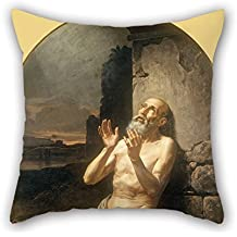 beautifulseason Throw Christmas Pillow Case of Oil Painting Gonzalo Carrasco - Job on The Dunghill for Girls Husband Her Living Room Dance Room Chair 18 X 18 Inches/45 by 45 Cm(Twin Sides)