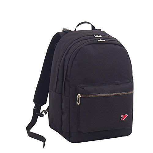 Zaino seven - the double pro xxl - nero - 30 lt schienale compatibile con cover e reversibile