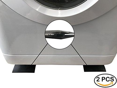 Waschmaschine Anti-Vibration Streifen 60cm x 14cm x 0,5cm Lärm reduzierende GUMMILAGERUNG Streifen, Universal Appliance Passform, Trockner, Geschirrspüler, Set von 2dauerhaft Gummi Anti Dämpfung Effekt, rutschfeste, einfache Reinigung, langlebig