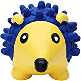 Petlicious & More Rubber Squeaky Hedgehog Chew Toy for Pet Dog (Large)