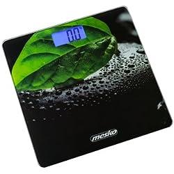 Mesko MS8149 - Báscula de Baño Digital 5kg-150kg, Diseño Extraplano con LCD Retroiluminación