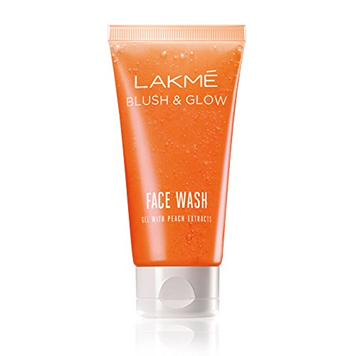 Lakme Blush and Glow Peach Gel Face Wash, 100g