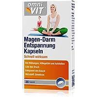 omniVIT Magen-Darm Entspannung Kapseln 20 Kapseln bei Blähungen, Völlegefühl und Aufstoßen preisvergleich bei billige-tabletten.eu