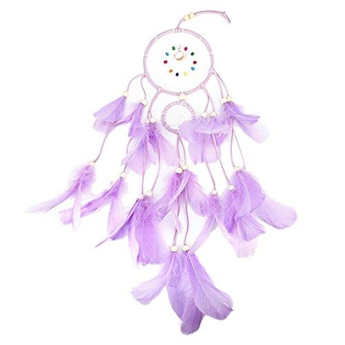 Trada Traumfänger, 2 Meter 20LED Beleuchtung Mädchen Raum Layout Wind Glocke Ornamente Schlafzimmer Kleine Laternen Zimmer Glocke Schlafzimmer Romantische Dekorative Lichter (A)