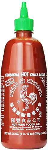 Huy Fong Sriracha Hot Chili Sauce (28oz)