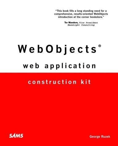 WebObjects Web Application Construction Kit by George Ruzek (2001-05-10)