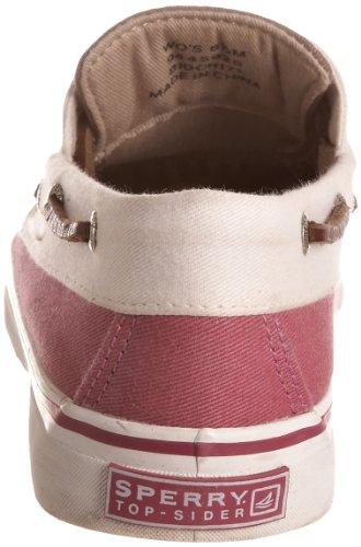 Sperry Bahama 2 Eye, Damen Casual Schnürschuh Pink (Himbeere)