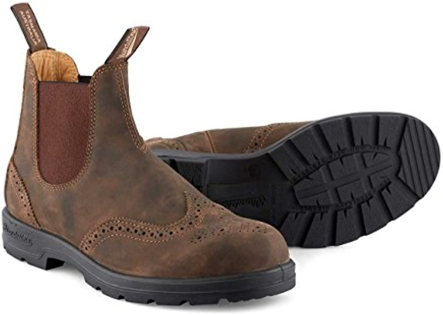 Blundstone 1471 Rustic Marronee PU Leather Brogue Chelsea Chelsea Chelsea stivali UK11 | Design professionale
