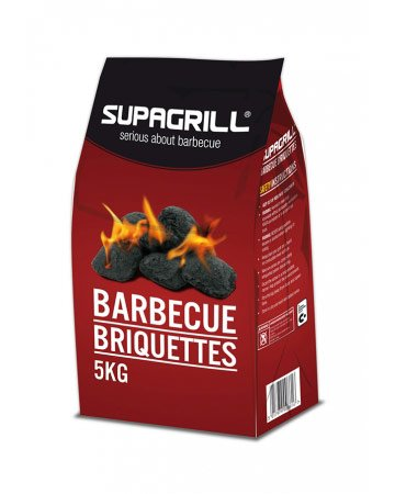 Supagrill Barbecue Charcoal Briquettes - 5kg