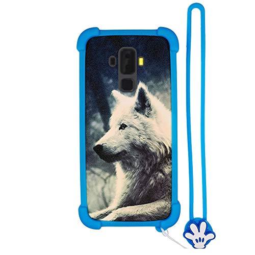 Hülle für Energizer Hardcase H590S hülle Silikon Grenze + PC hart backplane Schutzhülle Case Cover Lang