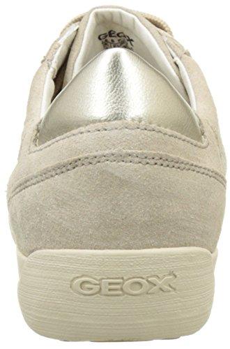 Geox D Myria B, Scarpe da Ginnastica Basse Donna Beige (LT TAUPEC6738)
