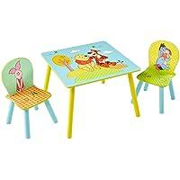 Preisvergleich für Winnie Puuh - Set aus Tisch und 2 Stühlen für Kinder