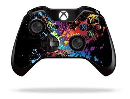 Stillshine Vinyle Decal Skin Sticker de Protection pour Xbox One télécommande Manette x 2 (Paint Splat)