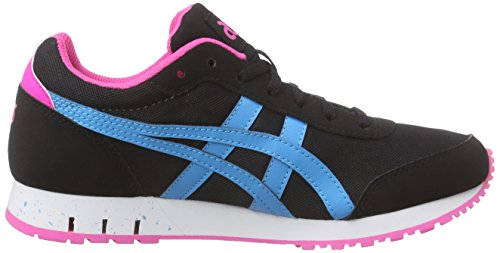 ASICS Curreo - Scarpe da Ginnastica Basse Unisex – Adulto, Bianco (white/light Grey 0113), 44 EU Nero (black/atomic Blue 9039)