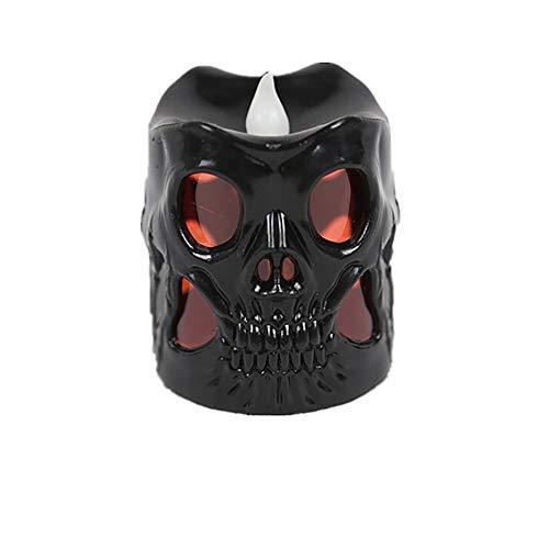 Ndier Halloween Skelett Flash Light Bar Geschenk Prop Angebot (1 Stück schwarz) Artikel für Halloween