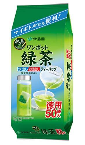 Itoen Japanese Tea ITO EN one-pot tea containing green tea bags 50 bags