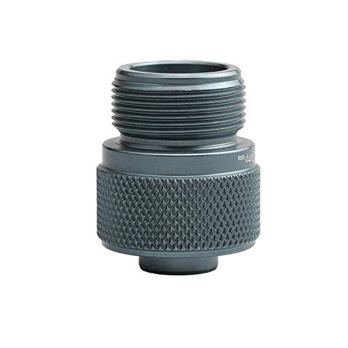 Foru-1 Aluminium-Adapter für Lindalventil-Zylinder auf Propangank/MAPP Gasbrenner - Propan-tank-refill