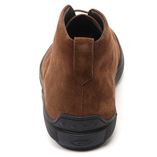 Tods B7204 Polacchino Uomo Scarpa Marrone Boot Shoe Man Marrone