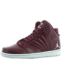 Nike Jordan 1 Flight 4 Zapatos Deportivos Cuero Bordeaux