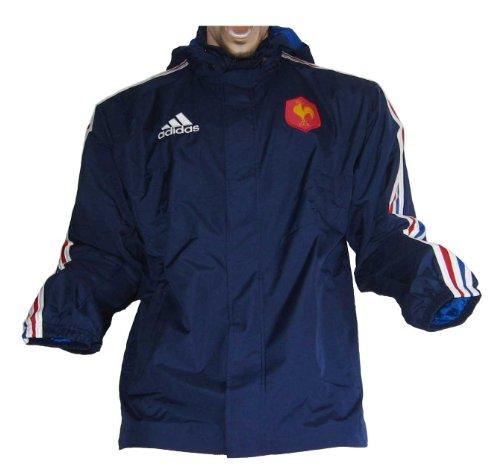 Allwetterjacke Frankreich Rugby Adidas Gr.8 44/46 Large