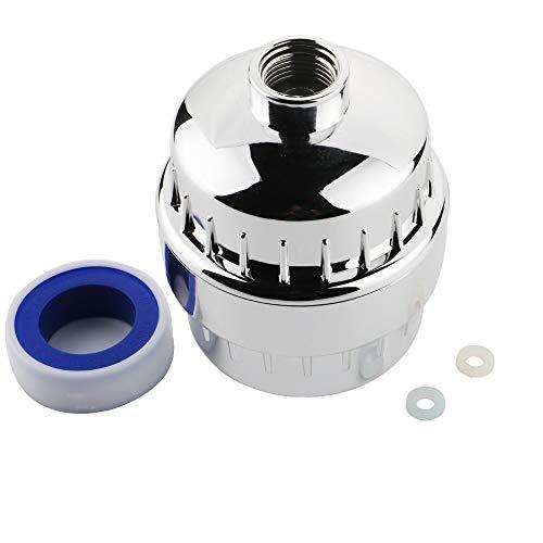 KINYOOO Duschfilter für jede Duschkopf- und Handbrause und austauschbare mehrstufige Filterpatrone, schützt empfindliche Haut und Gesundheit für Ihre ganze Familie.