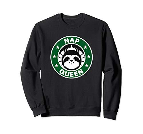 Süße Faultier Nap Queen Sweatshirt
