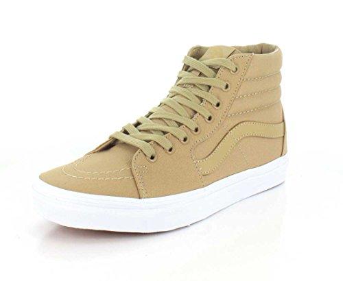 Vans Ua Sk8-Hi, Sneakers Hautes Homme Beige (Mono Canvas Khaki/true White)