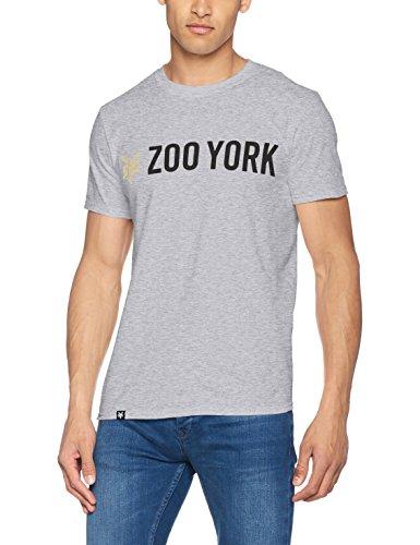 Zoo York Herren T-Shirt Gallant Grey (Grey Marl)