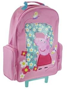 Peppa Pig - Trolley Bag Kids Luggage Wheeled Bag Suitcase