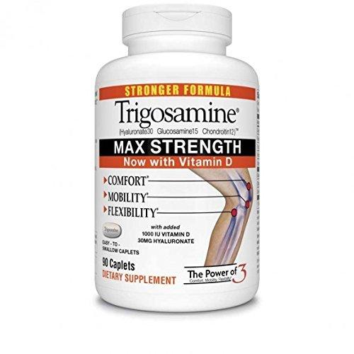 Trigosamine Maximum Strength, Triple Action Formula, 90 Count by Twinlab