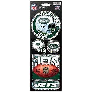 Wincraft NFL Prismatic Aufkleber, Team Color, Einheitsgröße Nfl-magnet-jets