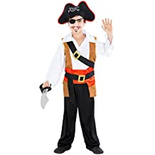 dressforfun Costume da Bambino - Capitano Ole il Guercio  36fa00f34dfa