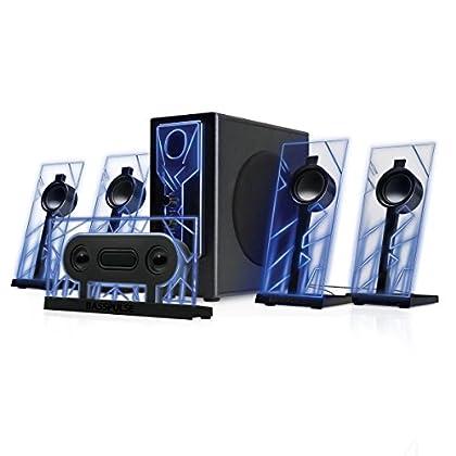 GOgroove Altavoces Gaming 5.1 Sistema Audio Spe...