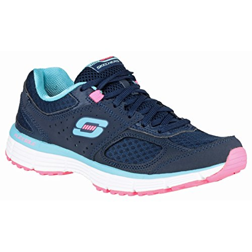 Skechers AgilityPerfect Fit   Sneakers da donna Carbone/Fucsia