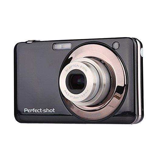 Digitalkamera Stoga V600 Gapo 2.7 Zoll TFT 5X optischer Zoom 15MP 1280 X 720 HD Anti-schütteln Smile Capture Digital-Videokamera